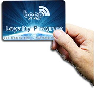 Beep Loyalty Card